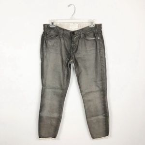 Current/Elliott The Stiletto Python Overdye Jeans